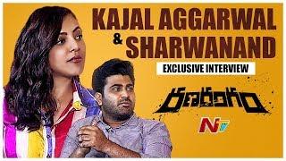 Sharwanand And Kajal Aggarwal Exclusive Interview    Ranarangam Movie