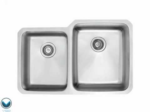 Video for 32-Inch Undermount 18 Gauge Double Bowl Kitchen Sink