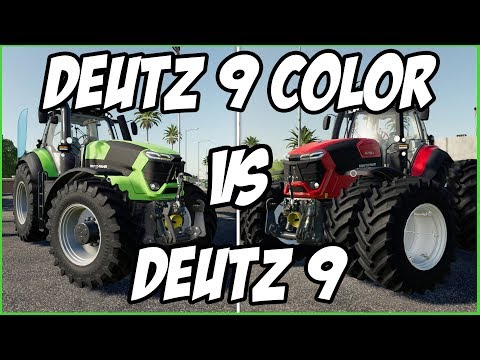 Deutz Fahr Series 9 Muilticolor v1.0.0.2