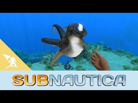 Subnautica Cuddlefish Update (видео)