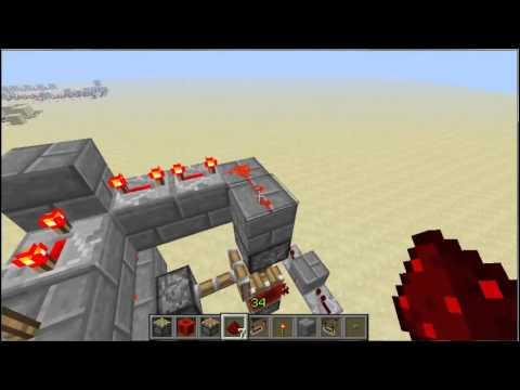 Minecraft(13w01b)-Piston Counter 1.0