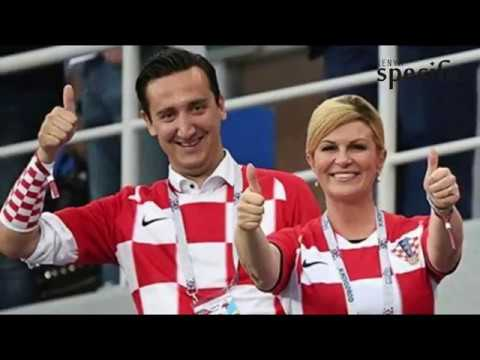 Croatia President Grabar-Kitarovi?'s wins hearts at the World Cup
