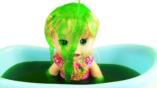 Video Baby Alive Bir Kova Slime Bucket Challenge Gelli Baff MP3, 3GP, MP4, WEBM, AVI, FLV November 2017