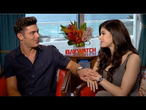 Video Zac Efron Can't Hide His Affection For Alexandra Daddario download in MP3, 3GP, MP4, WEBM, AVI, FLV January 2017
