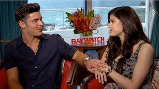 Video Zac Efron Can't Hide His Affection For Alexandra Daddario MP3, 3GP, MP4, WEBM, AVI, FLV April 2018