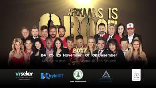Het jy kaartjies vir Afrikaans is Groot 2017? Ons deel met jou die advertensie van hierdie GROOT produksie.