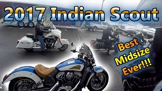 1. 2017 Indian Scout First Ride ABS | Funnest midsize cruiser ever!!!!