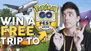 WIN A FREE TRIP TO POKÉMON GO FEST + FLIGHT & HOTEL! by Trainer Tips
