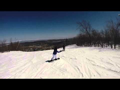 GoPro - Spring Snowboard at Blue Mountains April/2014 (видео)