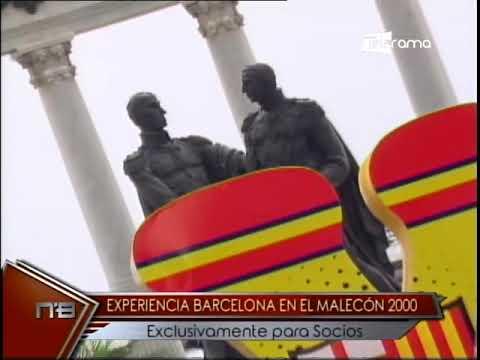 Experiencia Barcelona en el Malecón 2000 exclusivamente para socios