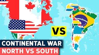 North America vs South America - Military Comparison