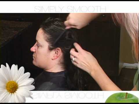 SIMPLY SMOOTH keratin replenishing color lock treatment