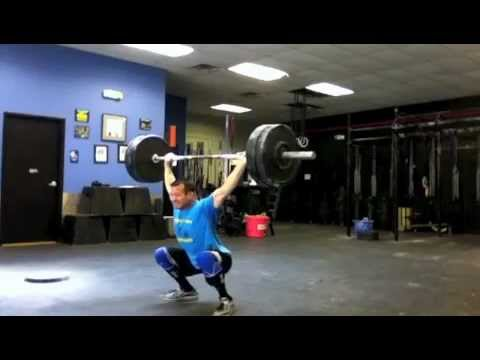 7/6/2012 Hang Squat Snatch at 205#