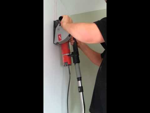 Cutting A Chase Using A Milwaukee Wall Chaser (WCE 30)