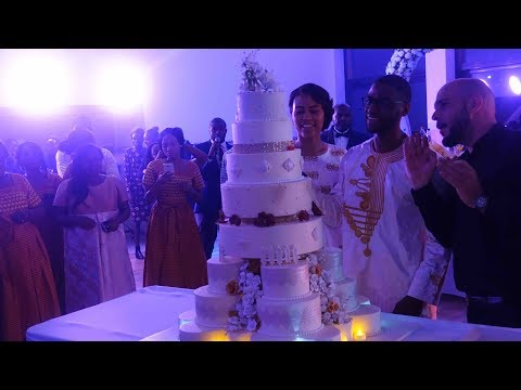 William And Sonia Wedding Cake