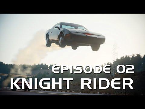 Kitt vs Drones Episode 02 - Knight Rider 3d Animation Series