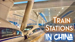 Train stations in China