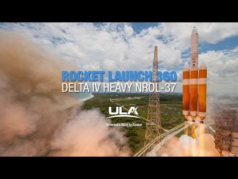 ULA Delta IV Heavy launch in 360 VR