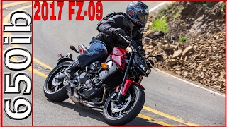 10. 2017 Yamaha FZ-09/MT-09 | Review & Motovlog in California!
