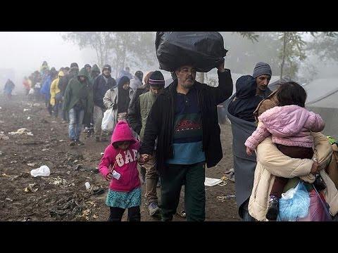 Προσφυγική κρίση: Η πολύωρη αναμονή στο Μπερκάσοβο