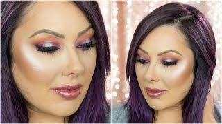 Purple & Coral Makeup Tutorial | Makeup Geek by Makeup Geek