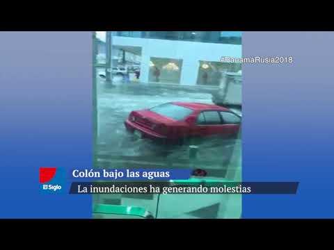 Ciudad de Colón bajo las aguas.