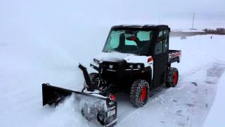 5. Bobcat 3650 utility vehicle and snowblower