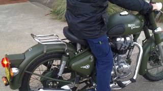 6. Royal Enfield C5 Military motorcycle 2011