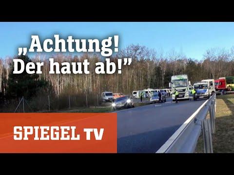 Polizeieinsatz an der deutsch-polnischen Grenze: »Ach ...