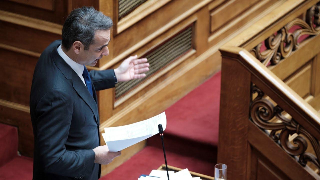 Δευτερολογία του Πρωθυπουργού Κυριάκου Μητσοτάκη στη Βουλή, στη συζήτηση στα Εργασιακά