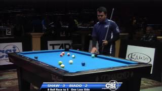 2014 CSI USBTC 8 Ball:  Jayson Shaw Vs Carlo Biado