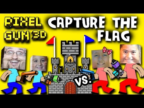 pixel - Dad & Son vs. Daughter & Cousin up in Pixel Gun w/ cousin! Capture the Flag 2x2 on the TWO CASTLES Map. Finally, we can all play with one another on the serv...