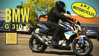 10. 2018 BMW G 310 R Test Ride and Review | An excellent entry level motorcycle