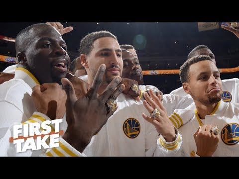 Video: Steph, Klay and Draymond should stay together for as long as possible – Max Kellerman   First Take