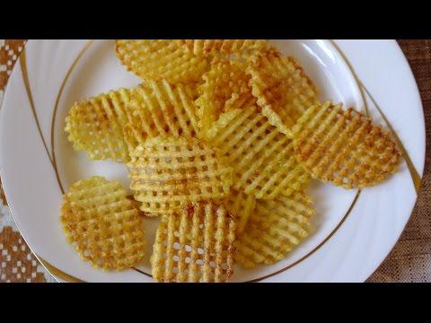 Как сделать дома картофельные чипсы
