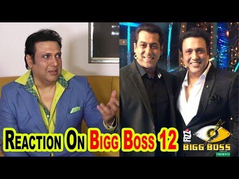 Govinda Talks About Meeting With Salman Khan At Bigg Boss House