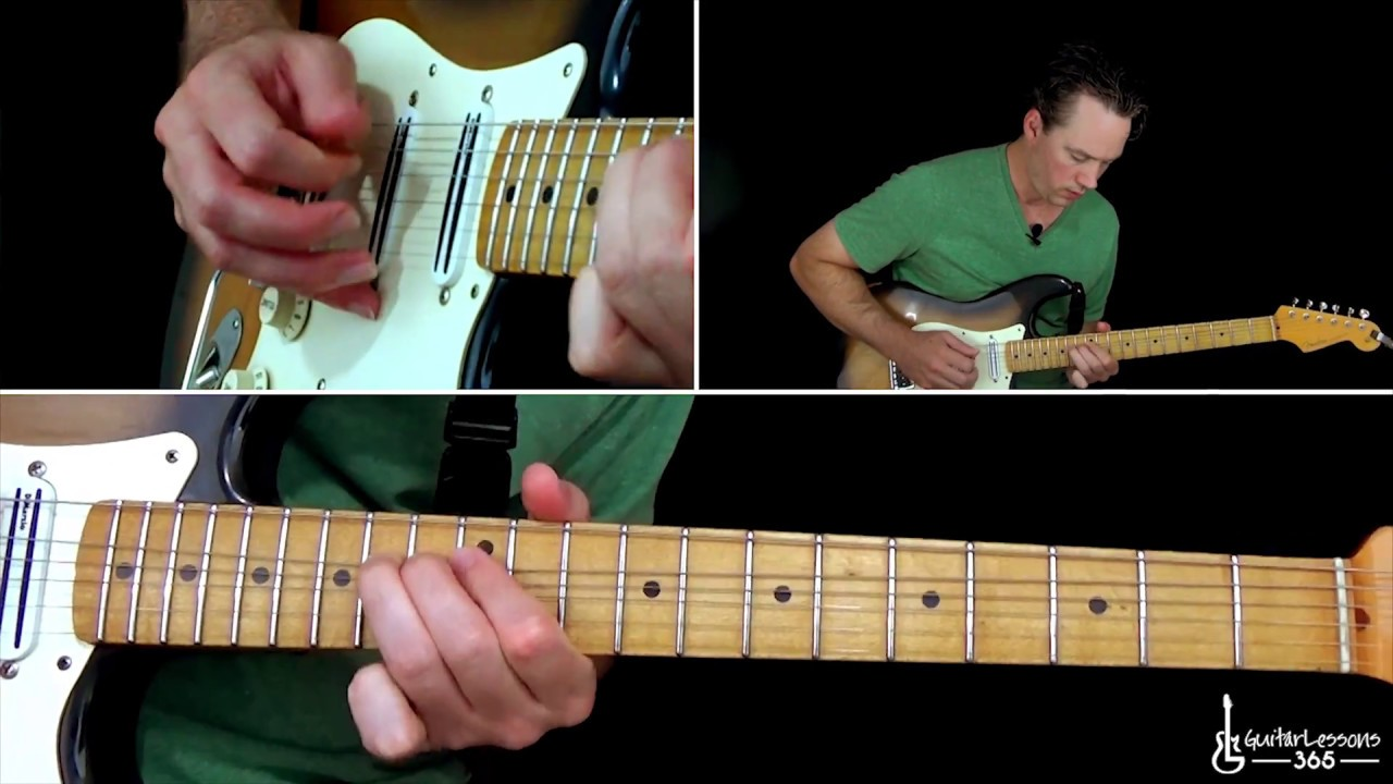 Stevie Ray Vaughan – Scuttle Buttin' Guitar Lesson (Full Song)