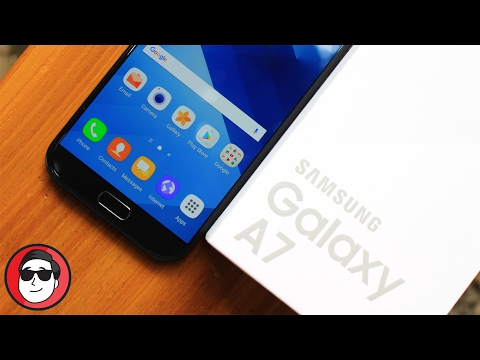 Unboxing Samsung Galaxy A7 2017 - Uhhuuuuuu!!!