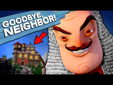 Goodbye My King - HELLO NEIGHBOR TIME TRAVEL! New Medieval Stealth Horror - Goodbye My King Gameplay