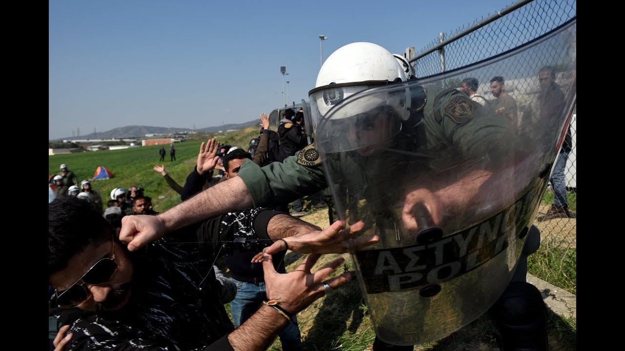 Θεσσαλονίκη-Διαβατά: Ένταση μεταξύ προσφύγων-μεταναστών και αστυνομίας