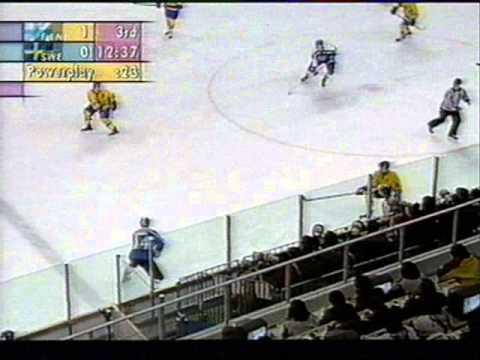 Maalikooste Suomi - Ruotsi Olympialaiset 1998