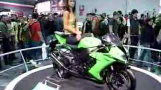 4. Milan - Eicma Show 2007 - Kawasaki Ninja ZX - 10R