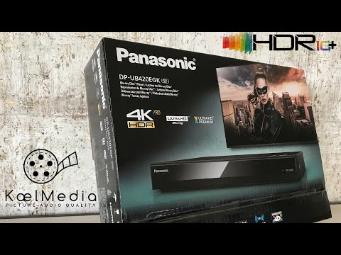 PANASONIC UB420 4K UHD PLAYER 2018 QUICK LOOK