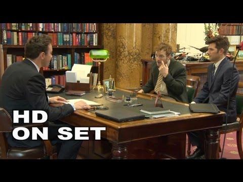 Parks and Recreation Season 6: Behind the Scenes Part 2 of 3 (Broll) - Chris Pratt, Adam Scott