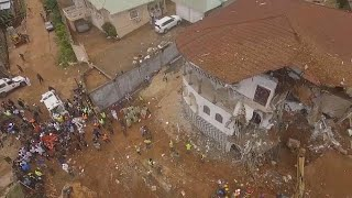 A minute of silence has been held in Sierra Leone's capital Freetown in honour of the hundreds of people killed in Monday's devastating mudslide on the ...