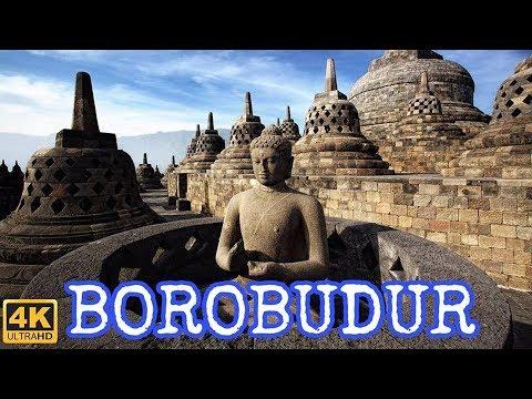 Borodubur Buddhist Temple in Indonesia