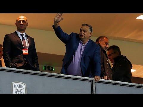 Στην Τούμπα ο πρωθυπουργός της Ουγγαρίας Βίκτορ Όρμπαν …
