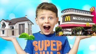 Video ALİ EVİNİ MCDONALD'Sa DÖNÜŞTÜRDÜ! Bad Baby Transform House Into McDonald's, Funny Video for children MP3, 3GP, MP4, WEBM, AVI, FLV November 2017
