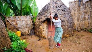 Video Incredible UNSEEN FOOD of AFRICA - Dorze Ethnic Group in Ethiopia! MP3, 3GP, MP4, WEBM, AVI, FLV Februari 2019