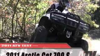 2. ATV Television - 2011 Arctic Cat 700 S Test